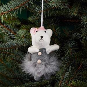 Dancing Teddy Bear Ornament